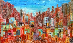 Ahmad-Farid-Cultural-Migration-Oil-on-Canvas-140x240cm-2014-e1414938258950
